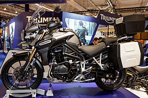 Paris - Salon de la moto 2011 - Triumph - Tiger Explorer - 001.jpg