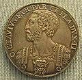 Parma, mezzo scudo di ottavio farnese, 1574.JPG