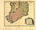 Partie meridio. le du royaume d'Irlande, ou sont la province de Mounster, et partie des prov.ces (sic) de Leinster, et Connaugh. LOC 99446222.jpg