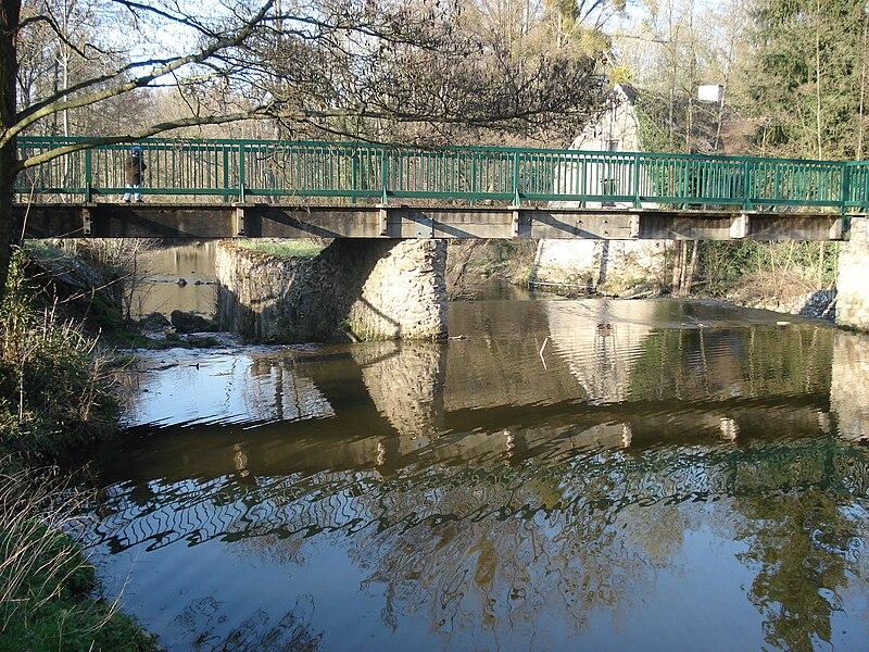 File passerelle du moulin de rochopt boussy saint for Boussy saint antoine piscine