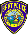 Patch of the Bay Area Rapid Transit Police Department (Former).png