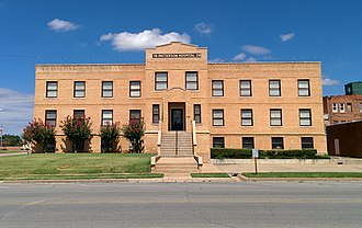 Stephens County, Oklahoma - Image: Patterson Hospital