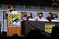 Patton Oswalt, Matt Duffer, Ross Duffer & Shawn Levy (36047076352).jpg