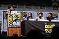 Patton Oswalt, Matt Duffer, Ross Duffer & Shawn Levy (36047076352).jpg