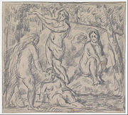 Paul Cézanne - Study of Four Women Bathing - Google Art Project.jpg