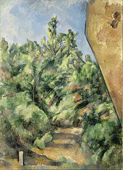 Paul Cézanne - The Red Rock - Google Art Project.jpg