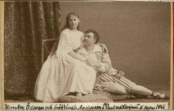 Paul och Virginie, Kungliga Operan 1886. Rollporträtt - SMV - H9 111.tif