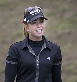 Paula Creamer - Creamer at the 2013 Kingsmill Championship