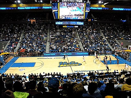 "UCLA Bruins vs. Oregon State Beavers, January 2013, in the ""New Pauley Pavilion"" Pauley Pavilion 2013.JPG"
