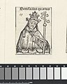 Paus Bonifatius IV Bonifacius quartus (titel op object) Liber Chronicarum (serietitel), RP-P-2016-49-60-3.jpg