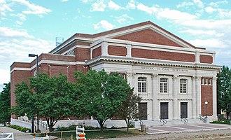 History of Eastern Michigan University - Pease Auditorium