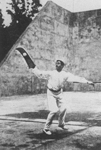 Basque pelota at the 1900 Summer Olympics - During the pelota contest