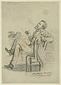 """Pencil Drawing, """"Gen. Grant at the Astor House"""" by Pierre Morand.jpg"""
