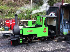 Rudyard Lake Steam Railway - Pendragon