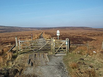 Snake Pass - The Pennine Way crosses Snake Pass at its summit.