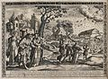 People and animals entering Noah's ark, transposed into a 16 Wellcome V0034379.jpg