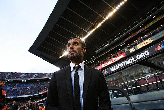 Pep Guardiola al Barcelona