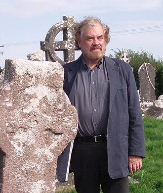 Peter Berresford Ellis - Peter Berresford Ellis in Emly, Ireland