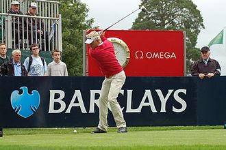 Peter Hedblom - Hedblom at the Scottish Open in 2006
