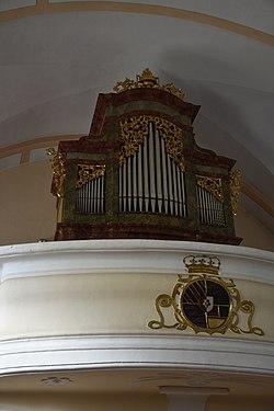 Pfarrkirche hl. Ägydius, Fischbach Interior 07.jpg