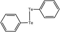 Chemical structure of diphenyl ditelluride