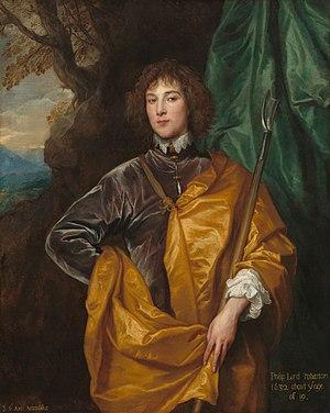 Philip Wharton, 4th Baron Wharton - Lord Wharton, 1632, by Van Dyck.