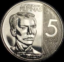 philippine five peso coin wikipedia. Black Bedroom Furniture Sets. Home Design Ideas