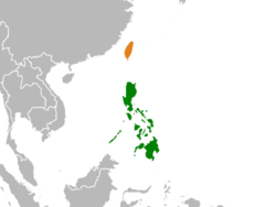 taiwan and philippines relationship to other countries