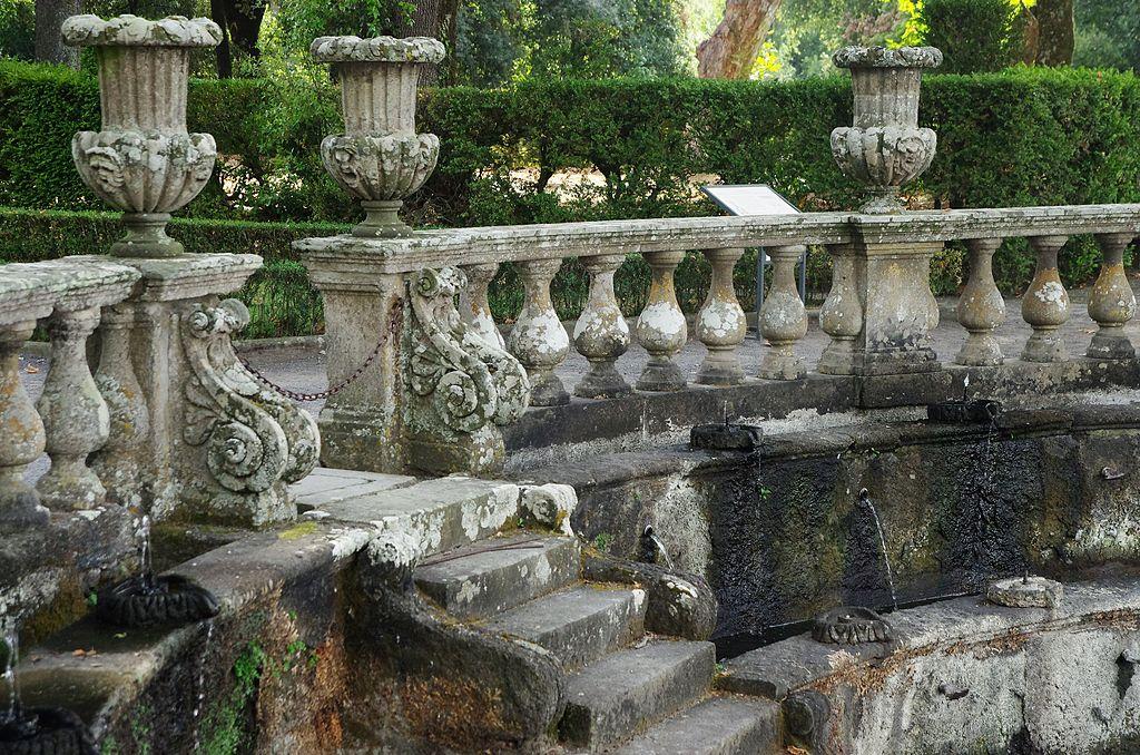 Fontana dei Lumini, Villa Lante, Bagnaia, Viterbo