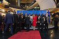Photo de famille lors de la remise du 25e prix Sakharov à Malala Yousafzai Strasbourg 20 novembre 2013 01.jpg