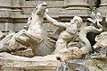 Piazza di trevi - fontana di trevi hippocampus crop.jpg