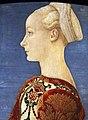 Piero del pollaiolo, ritratto di giovane donna, 1465 ca. (berlino) 03.JPG