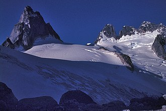 The Bugaboos - Image: Pigeon Spire and Howser Spires