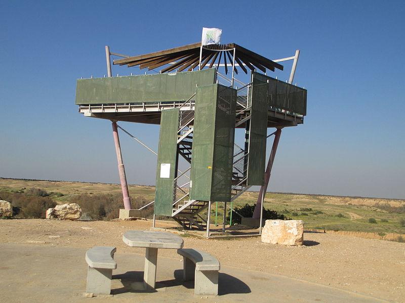 מגדל תצפית בנחל הבשור