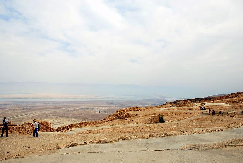 Masada Dead Sea View