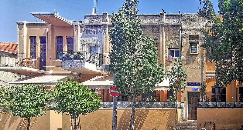 הבית ברחוב פינס 27 בתל אביב