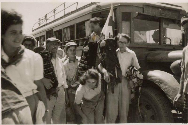 שלוחות - העליה לעמק בית שאן  1948