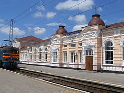 Pjatychatky Bahnhof 3.JPG