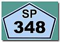 Placa da SP 348 REFON ..jpg