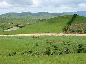 Xiangkhoang Plateau - Landscape of the Xiangkhouang Plateau
