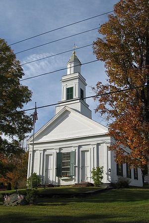Plainfield, Massachusetts - Plainfield Congregational Church