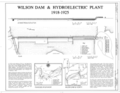 Plan and Cover - Wilson Dam and Hydroelectric Plant, Spanning Tennessee River at Wilson Dam Road (Route 133), Muscle Shoals, Colbert County, AL HAER ALA,17-MUSHO,2- (sheet 1 of 1).png