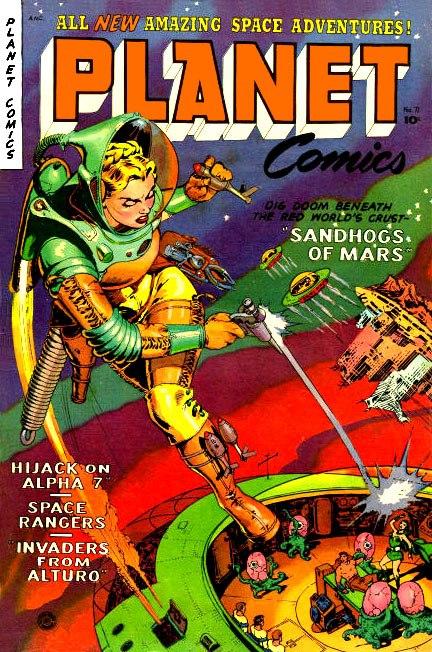 Planet Comics 71