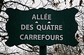 Plaque Allée Quatre Carrefours - Paris XII (FR75) - 2021-01-21 - 1.jpg