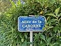 Plaque allée Caborne St André Bâgé 2.jpg