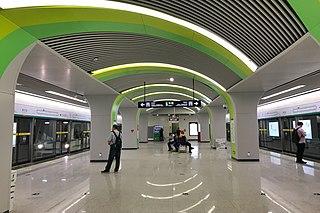line of the Zhengzhou Metro