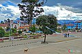 Plaza de Armas de la capital de Mariscal Luzuriaga, Piscobamba..jpg