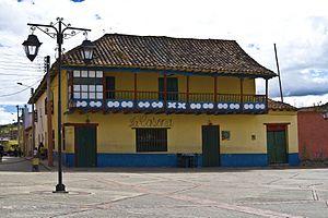Tuta, Boyacá - Image: Plaza de Tuta 2