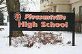 Pleasantville Iowa 20080111 High School Sign.JPG
