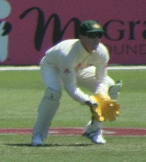 Brad Haddin - Haddin playing for Australia in 2009.